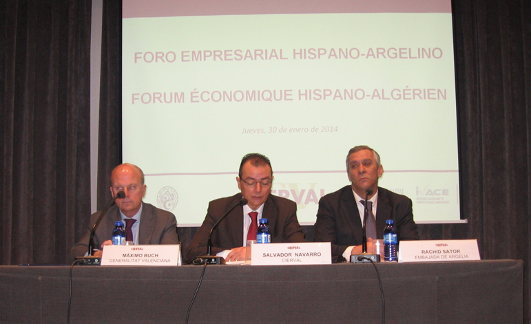 Evalue asiste al Foro Hispano-Argelino celebrado en Valencia